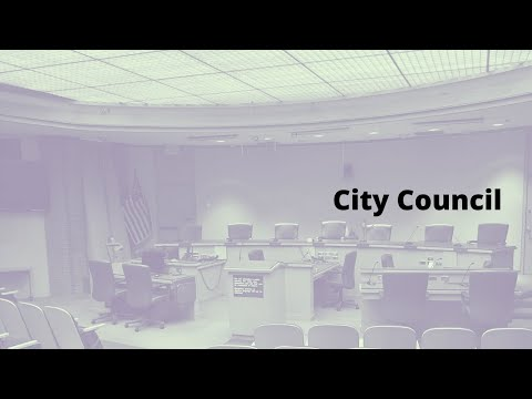 City Council Meeting - Oct. 27, 2020