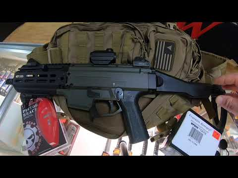 CZ Scorpion EVO3 S1 Pistol Upgrades