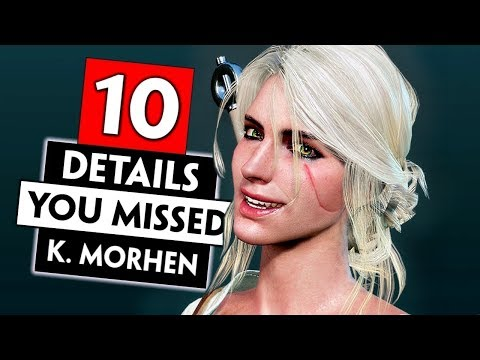 10 Small Things You Probably Missed in Kaer Morhen   THE WITCHER 3