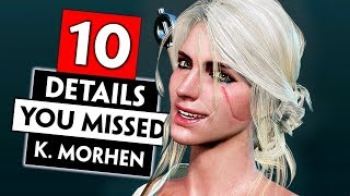 10 Small Things You Probably Missed in Kaer Morhen | THE WITCHER 3
