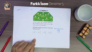 Farklı İsem Deneme 5 - Harun Hoca - Matematik