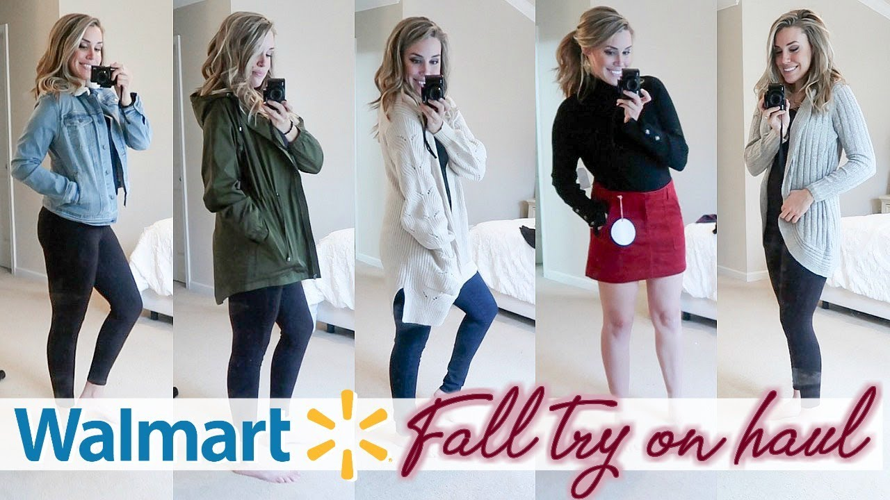 [VIDEO] - HUGE WALMART FALL TRY ON CLOTHING HAUL 2019 - AFFORDABLE FALL FASHION IDEAS | Lauren Midgley 6