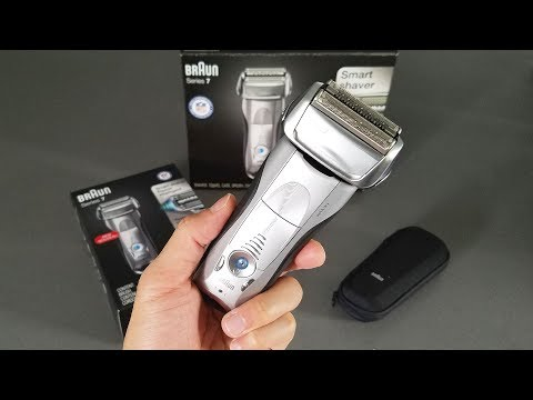 Braun 7893s Electric Shaver Unboxing and Review in 4K