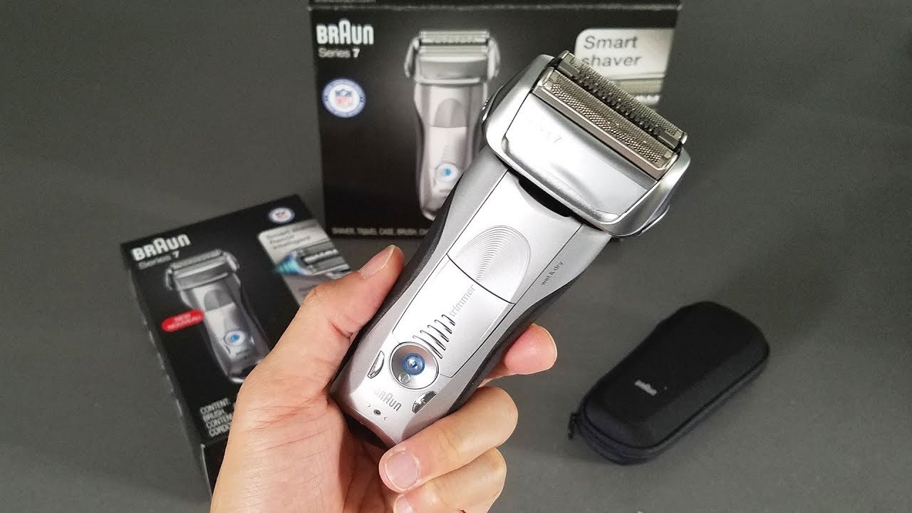 Braun 7893s Electric Shaver Unboxing and Review in 4K - YouTube