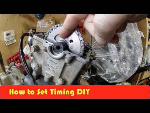 Arctic Cat 650H1 Camshaft And Timing Set Up DIY