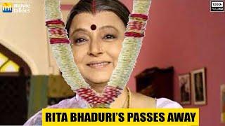 Veteran Bollywood Actress Rita Bhaduri's Last Rites | Full Video
