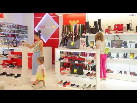 Тест драйв обуви в магазине Next Step в Курске