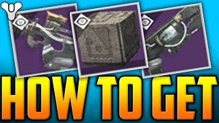Destiny 2 - HOW TO GET VERSE WEAPONS - Full Guide! - The GARDEN PROGENY 1 (Vance Verse Weapons)