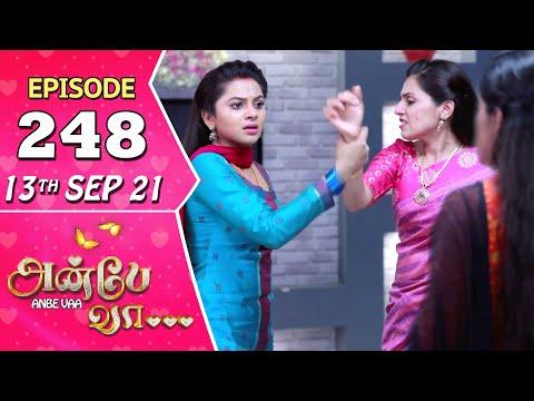 Anbe Vaa Serial | Episode 248 | 13th Sep 2021 | Virat | Delna Davis | Saregama TV Shows Tamil