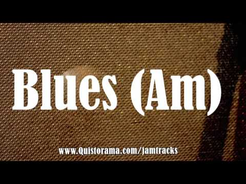 A Minor Blues Backing Track (Groove)