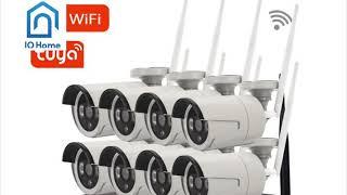 Giới thiệu trọn bộ camera thông minh Tuya có đầu ghi 8 kênh NVR- iohome