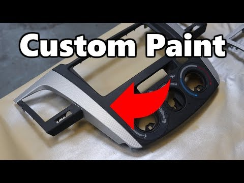 Paint Interior Dash Parts On You Car!
