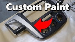 Paint Interior Dash parts on you car!