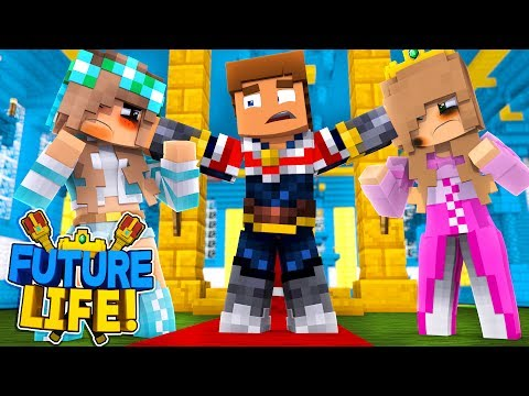 Minecraft FUTURE LIFE!! - LITTLE DONNY IS THE FATHER, LITTLE KELLY & ASHLEY FIGHT!!
