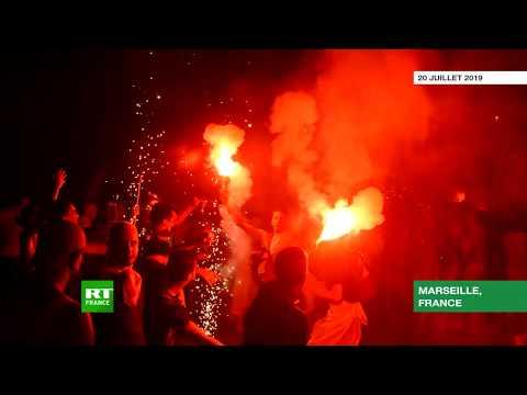 Marseille : des heurts entre les supporters algériens et la police lors des célébrations