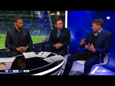 Gerrard, Lampard, ferdinand and Lineker talk about the genius of Lionel Messi...