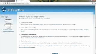 How to – Drupal Install through QuickInstall at HostGator.com