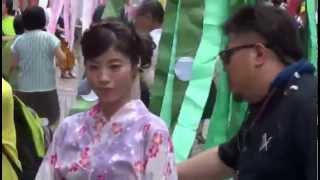 FNN仙台放送スーパーニュース 2014/08/06 16:52 一番町一番街商店街.