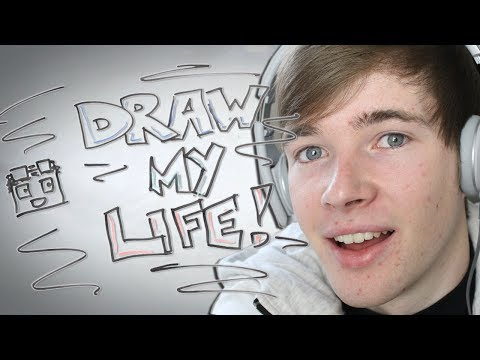 Thumbnail: Draw My Life - TheDiamondMinecart | 1,000,000 Subscriber Special