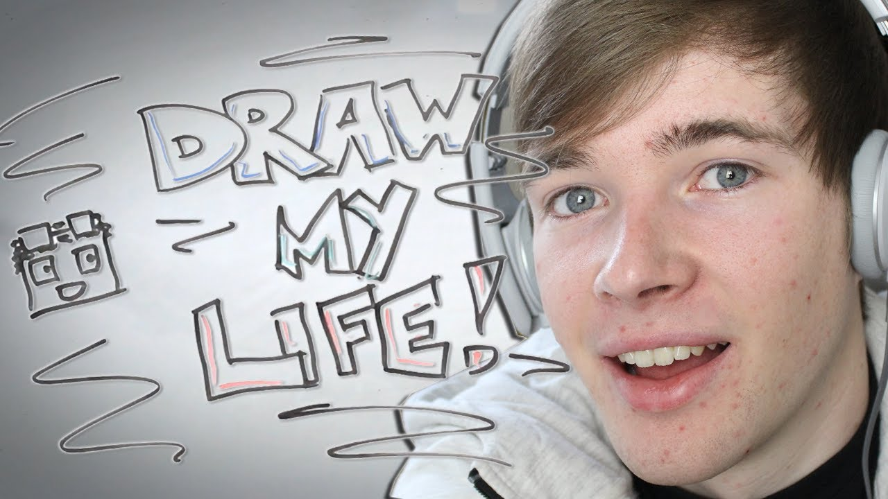 Draw My Life  Thediamondminecart  1,000,000 Subscriber Special  Youtube