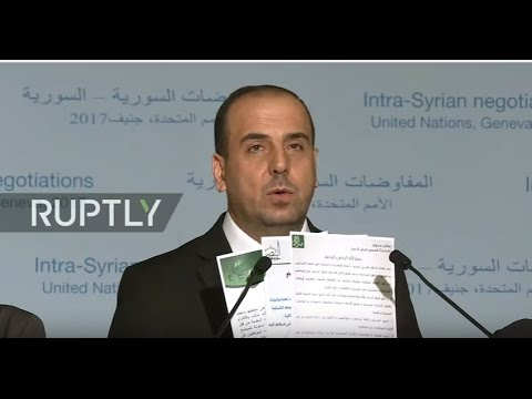 LIVE from new round of Syria peace talks in Geneva: statement by HNC opposition