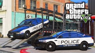 LSPD New Squad Cars! GTA 5 Real Life Mod #75 (Real Hood Life 4)