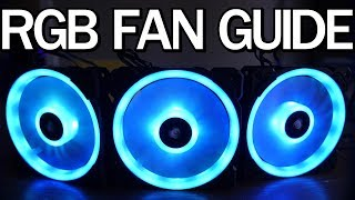 The Definitive RGB Fan Comparison - 8 Different Fans Tested!