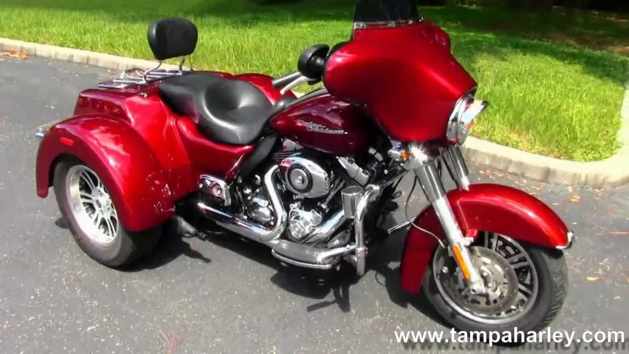 Used 2010 Harley-Davidson Motorcycle Trike Street Glide For Sale Tama Reno  Dallas - YouTube