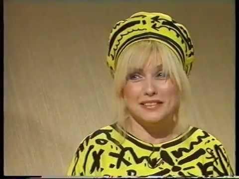 DEBBIE HARRY/BLONDIE-RUSSELL HARTY-BBC 1- 22.N0V.1983