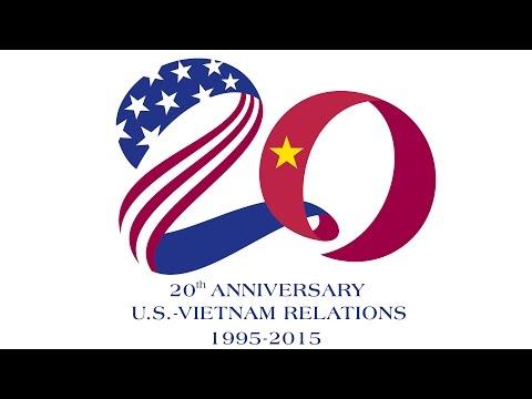 20th anniversary of U.S. - Vietnam relations