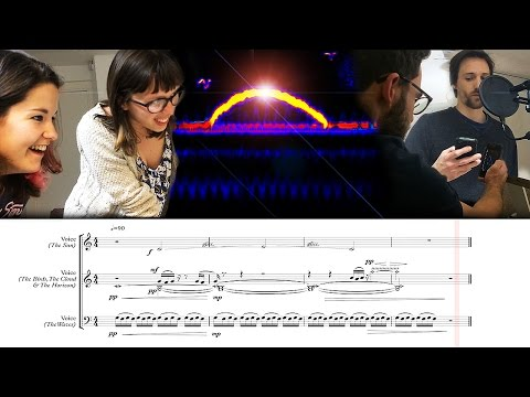 Fun with spectrograms! How to make an image using sound and music