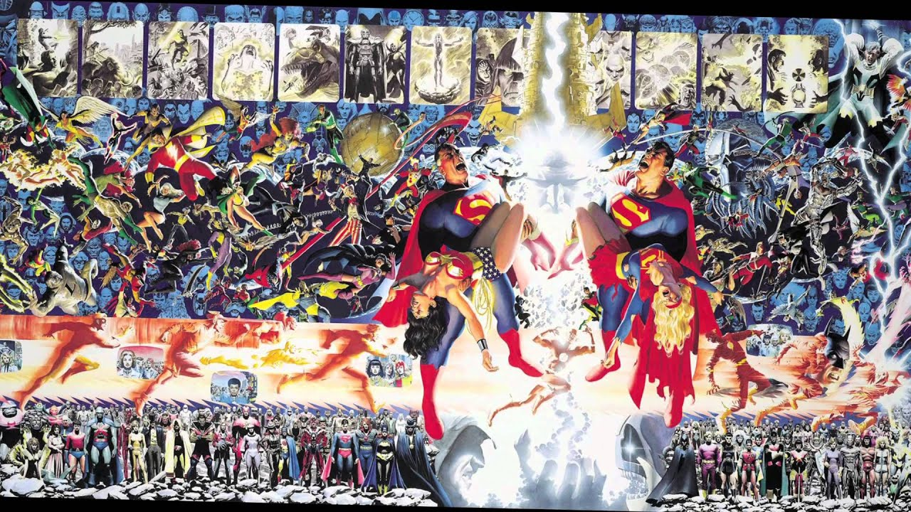 heroes villains the comic book art of alex ross nrm exhibition