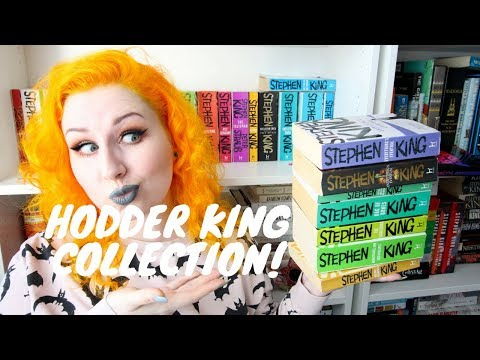 STEPHEN KING SUNDAY #8 – MY HODDER COLLECTION! (AND FAQ) (27 BOOKS!)