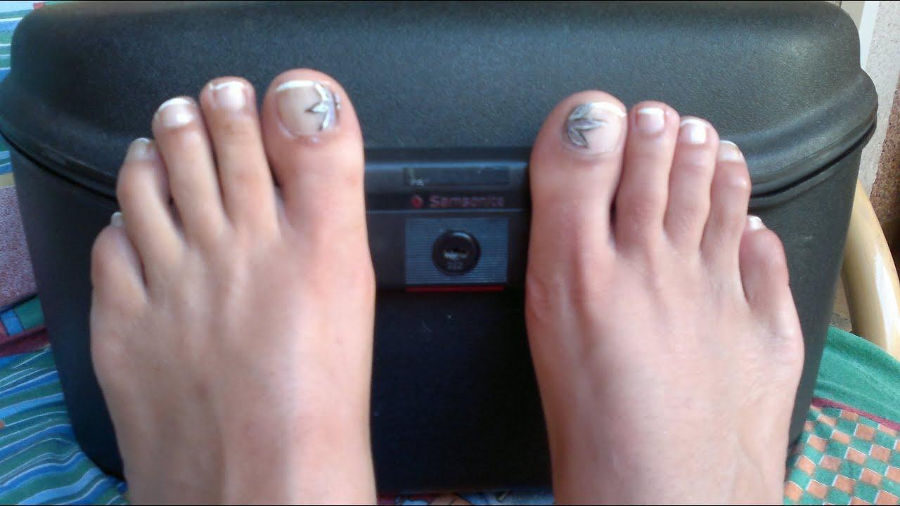 Diy como hacer manicura en los pies youtube - Como mantener los pies calentitos ...