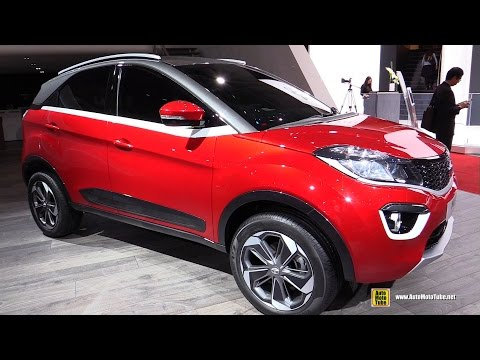 2017 Tata Nexon - Exterior and Interior Walkaround - 2017 Geneva Motor Show