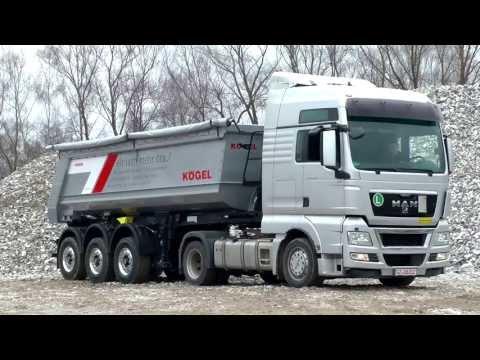 Kögel | Produktfilm | Der Kögel Mulden-Kipper | © 2013 Kögel Trailer GmbH & Co. KG