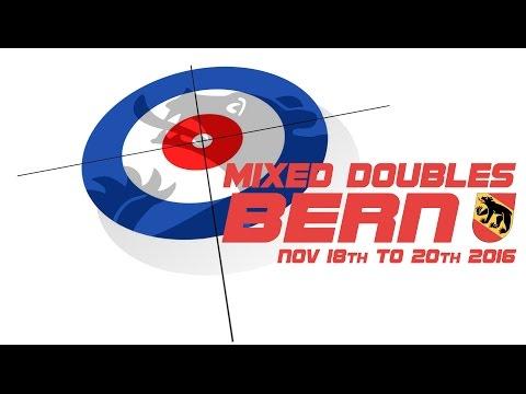 Mixed Doubles Curling Bern │Bryzgalova/Krusheinitcki (RUS) :  Clostre/Panzera (SUI)