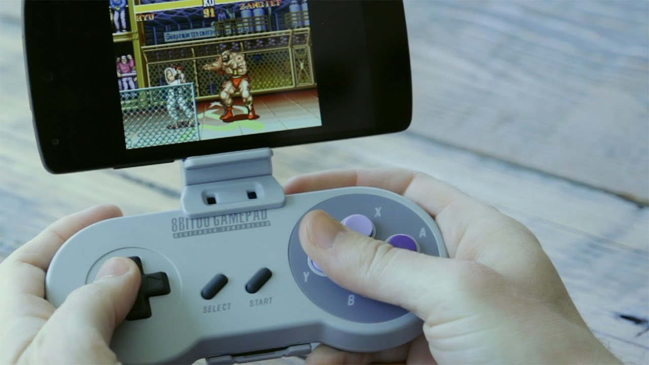 Here's How You Can Play SNES Games On Your Smartphone