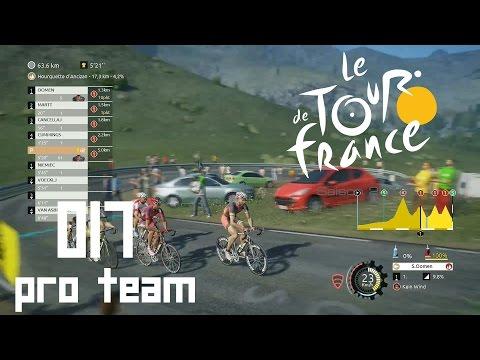 Tour de France 2016 Pro Team [PS4] #017 - Ausreissversuch [HD+] - Let's Play