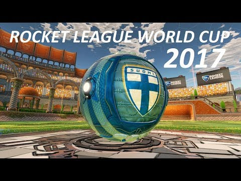 ROCKET LEAGUE WORLD CUP 2017  FINLAND! all matches in a single video