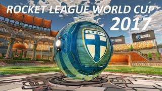 ROCKET LEAGUE WORLD CUP 2017 - FINLAND! (all matches in a single video)