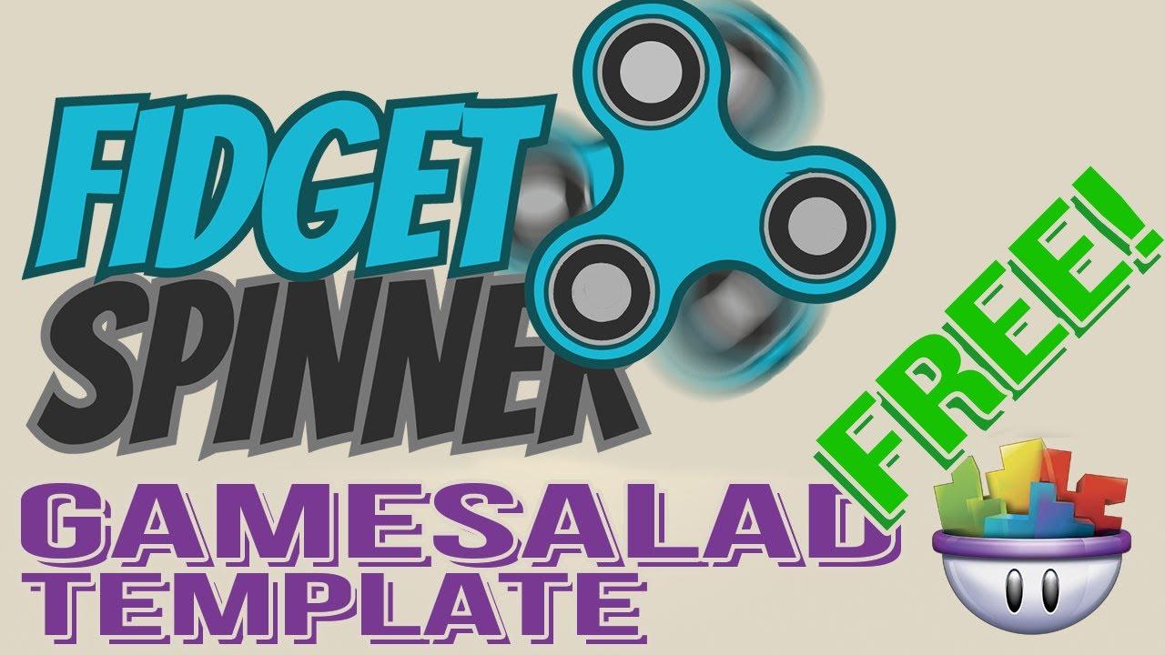Gamesalad custom fonts - Fidget Spinner Free Gamesalad Template
