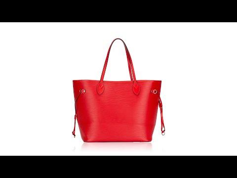 Louis Vuitton Epi NM Neverfull MM Coquelicot