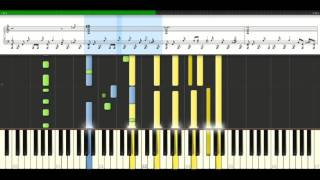 Aerosmith - Sweet Emotion [Piano Tutorial] Synthesia