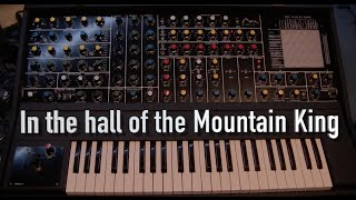 In the hall of the mountain king on Synthesisers