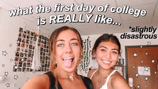 first EVER day of college vlog!! *freshman year*