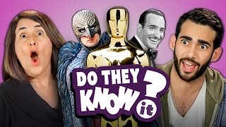 DO ADULTS KNOW OSCAR BEST PICTURE WINNERS? (REACT: Do They Know It?)