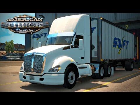 American Truck Simulator - Episode 45 - Back in a Day Cab!