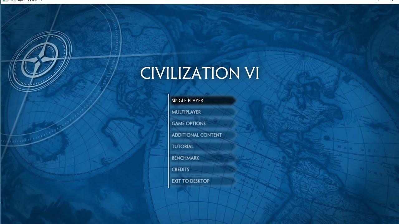 how to create a civilization civ 6
