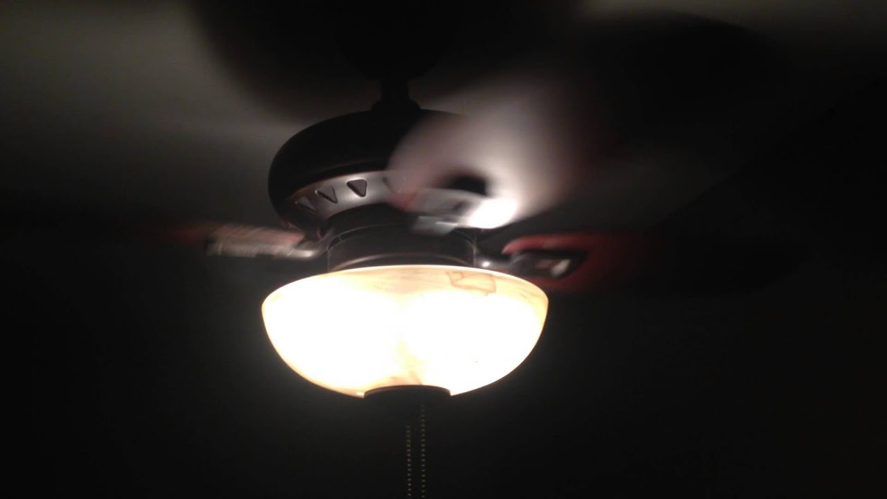 Allen Roth Laralyn Ceiling Fan Youtube